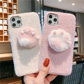 FURRY PAW SHOCKPROOF PROTECTIVE DESIGNER IPHONE CASE PC054