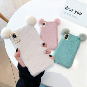 FURRY BEAR SHOCKPROOF PROTECTIVE DESIGNER IPHONE CASE PC063