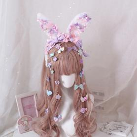 12 PCS SWEET LOLITA HAIR CLIPS LH040