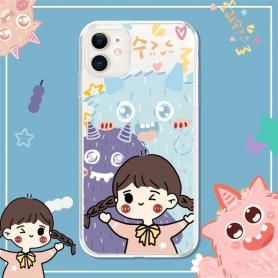 MONSTER HUGGING SHOCKPROOF PROTECTIVE DESIGNER IPHONE CASE PC086