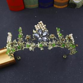 BAROQUE BRIDAL CROWN AC047