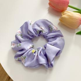 One Piece of Floral Scrunchie HB276