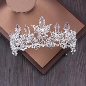 CRYSTAL BRIDAL CROWN AC037