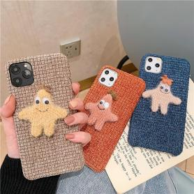 FURRY PATRICK STAR SHOCKPROOF PROTECTIVE DESIGNER IPHONE CASE PC052