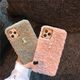 FURRY DINASOUR SHOCKPROOF PROTECTIVE DESIGNER IPHONE CASE PC031