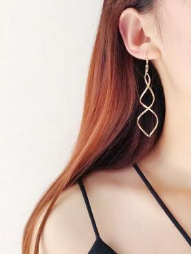 Fashion Wave Earrings F076