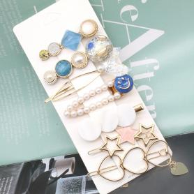 7 PCS MERMAID HAIR CLIP HB024
