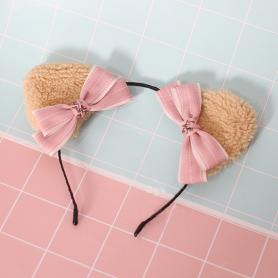 1 PC SWEET BEAR EAR LOLITA HAIR BAND LH033