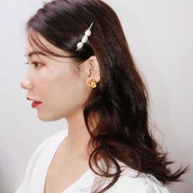ONE PIECE OF PEARL HAIR CLIP DC031