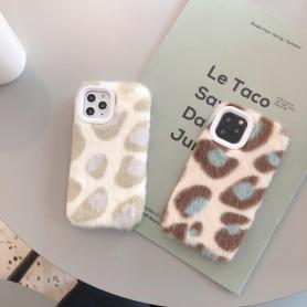 FURRY LEOPARD SHOCKPROOF PROTECTIVE DESIGNER IPHONE CASE PC009