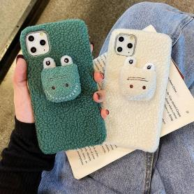 FURRY CROCODILE SHOCKPROOF PROTECTIVE DESIGNER IPHONE CASE PC065