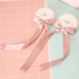 1 PAIR OF SWEET RIBBON LOLITA HAIR TIES LH035