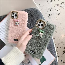 FURRY CROCODILE SHOCKPROOF PROTECTIVE DESIGNER IPHONE CASE PC049