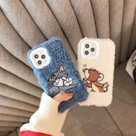 FURRY TOM&JERRY SHOCKPROOF PROTECTIVE DESIGNER IPHONE CASE PC003