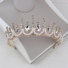 CRYSTAL BRIDAL CROWN AC028