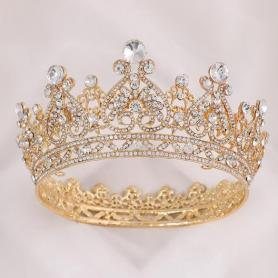 BAROQUE BRIDAL CROWN AC044