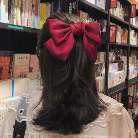 ONE PIECE BOW-KNOT HAIR CLIP HB011