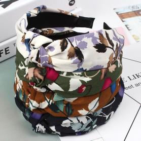 ONE PIECE FLORAL HAIR BAND HB159