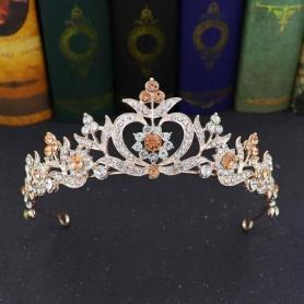 BAROQUE BRIDAL CROWN AC048