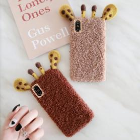 FURRY GIRAFFE SHOCKPROOF PROTECTIVE DESIGNER IPHONE CASE PC017