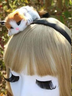 Cute Kitty Headband A020