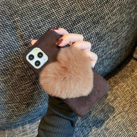 FURRY HEART SHOCKPROOF PROTECTIVE DESIGNER IPHONE CASE PC064