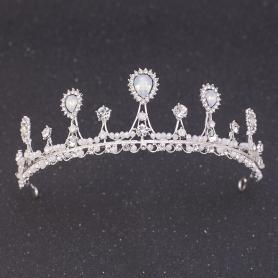 Silver Bridal Crown AC112
