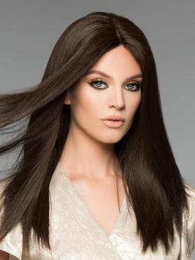 BLACK LONG STRAIGHT HUMAN HAIR FULL LACE WIG FLW039