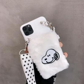 FURRY SNOOPY SHOCKPROOF PROTECTIVE DESIGNER IPHONE CASE PC011