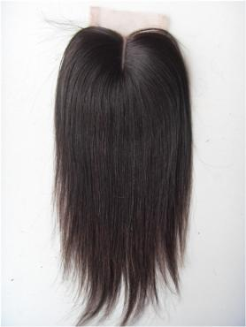 Striaght 100% Virgin Remy Clip In Hair Closure CLD004