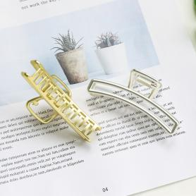 2 PCS SQUARE HAIR CLIPS DC008