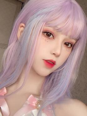 New Pastel Synthetic Wefted Cap Wig LG037