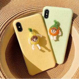 FURRY CARROTMAN SHOCKPROOF PROTECTIVE DESIGNER IPHONE CASE PC043