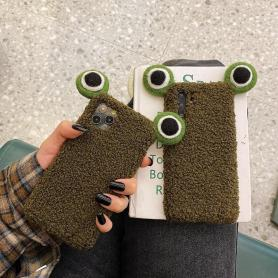 FURRY FROG SHOCKPROOF PROTECTIVE DESIGNER IPHONE CASE PC044