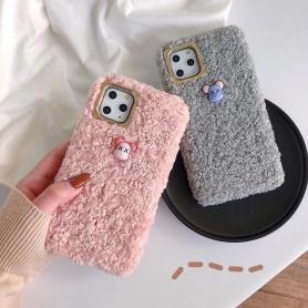 FURRY SHOCKPROOF PROTECTIVE DESIGNER IPHONE CASE PC004