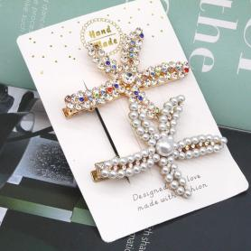 2 PCS STARFISH HAIR CLIP HB027