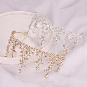 CRYSTAL STAR BRIDAL CROWN AC057