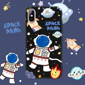 SPACE PARK SHOCKPROOF PROTECTIVE DESIGNER IPHONE CASE PC087