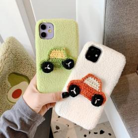 FURRY CAR SHOCKPROOF PROTECTIVE DESIGNER IPHONE CASE PC060