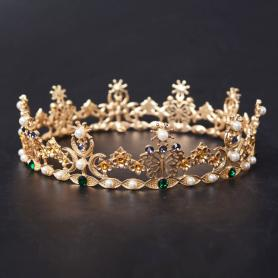Vintage Bridal Crown AC116