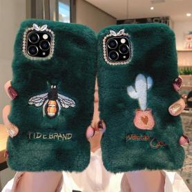 FURRY SHOCKPROOF PROTECTIVE DESIGNER IPHONE CASE PC015