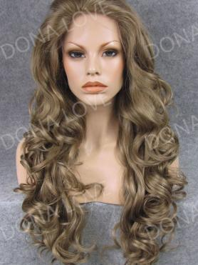 #9 Waist-length Wavy Synthetic Lace Wig-SNY047